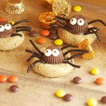 Peanut Butter Cookie Spiders + What's for dinner?