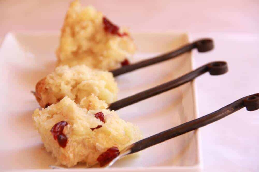 Cranberry Brie Biscuit Appetizer