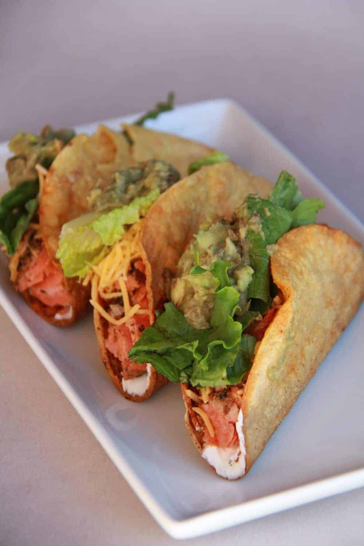 Blackened salmon fish tacos half baked harvest for Fish burrito recipe