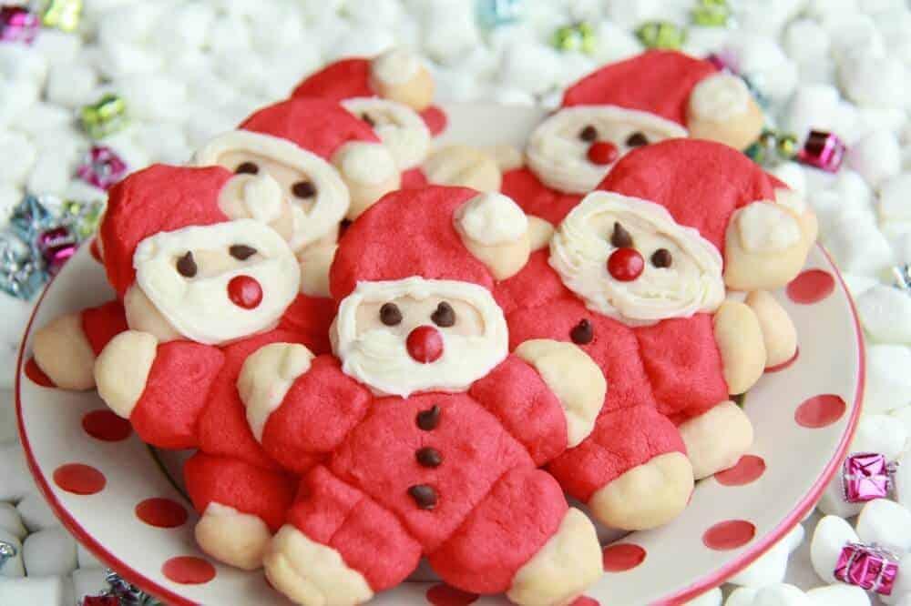 Fat Santa Cookies