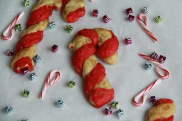 Candy Cane Bagels