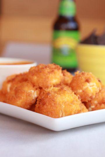 "Buffalo Oven ""Fried"" Goat Cheese"