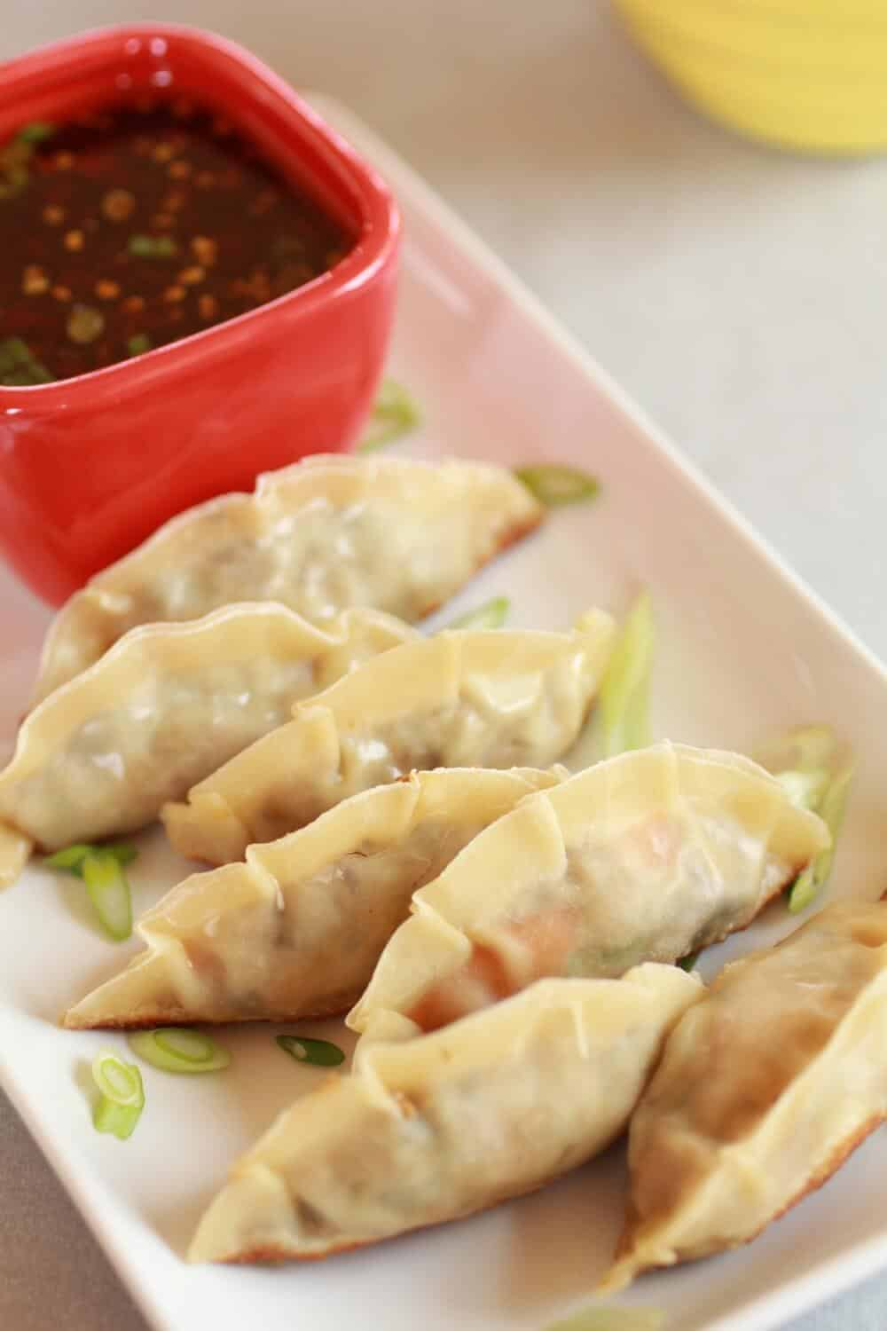 Vegetable Potstickers!