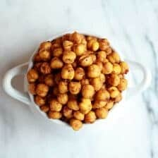Chipotle Roasted Chickpeas.