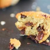 Chocolate Chip Cookie Banana Muffins-9