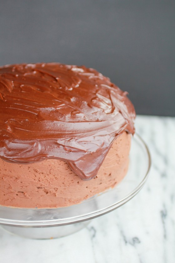 Chocolate lovers chocolate cake-1