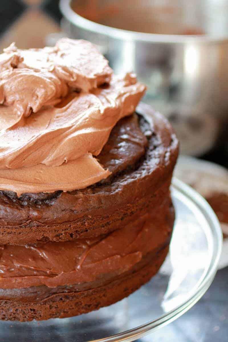Chocolate lovers chocolate cake-2