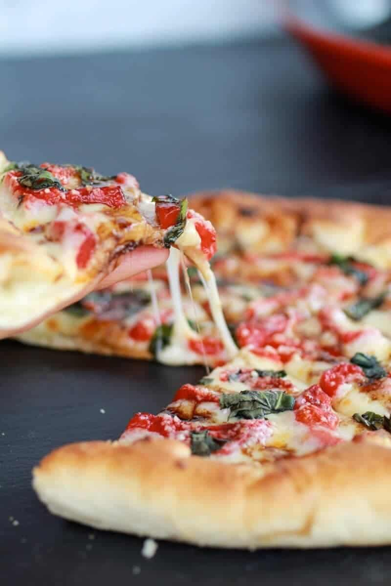 Green Olive Pesto Pizza-14