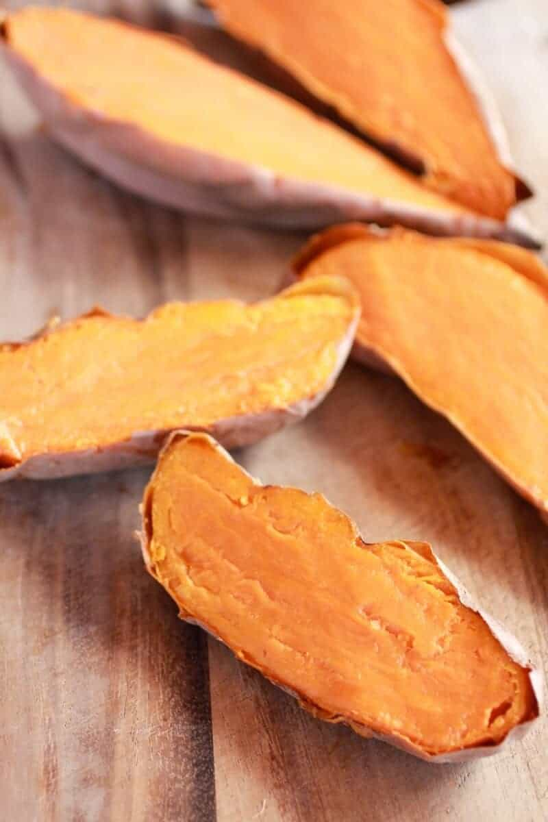 Healthy Chipotle Chicken Sweet Potato Skins-3
