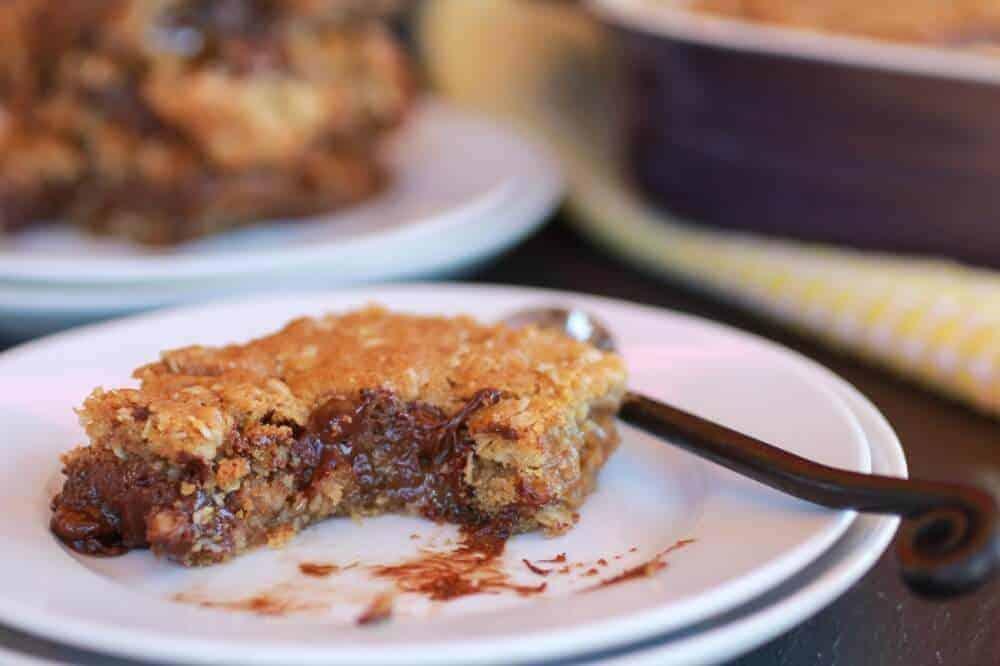Oatmeal Chocolate Caramel Bars-12