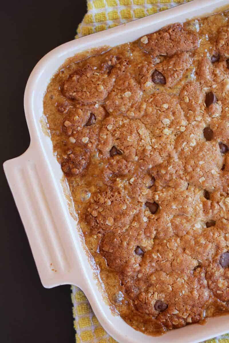 Oatmeal Chocolate Caramel Bars-6