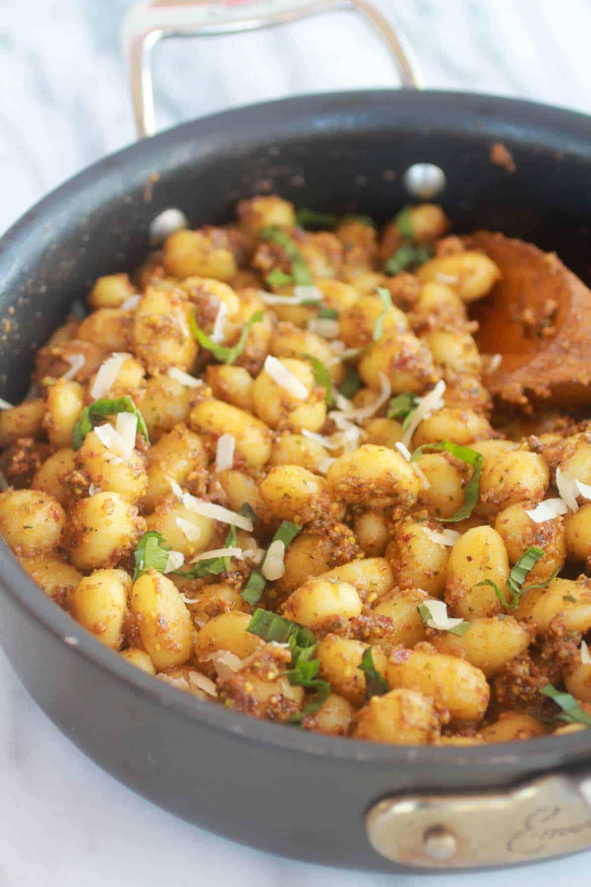 ... crispy gnocchi golden crispy gnocchi gnocchi with summer vegetables