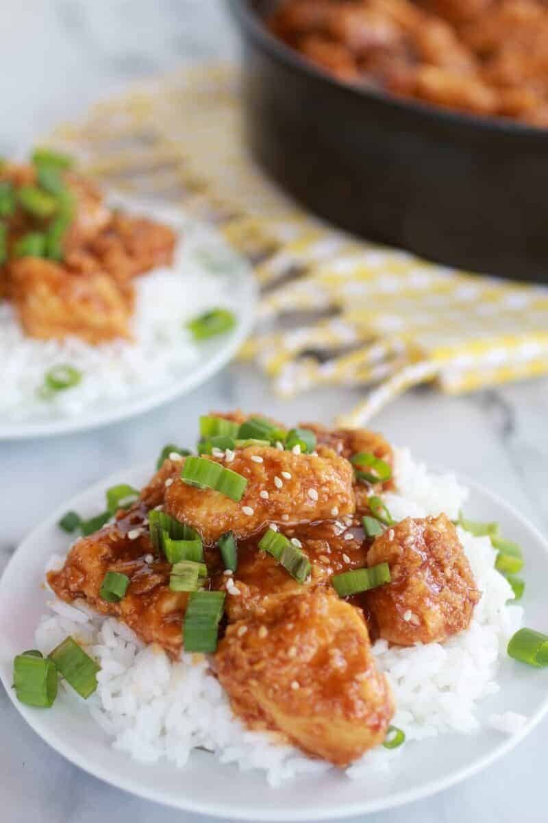 Healthier General Tso's Chicken-4