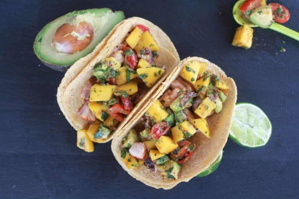 Mahi Mahi Fish Tacos with Chipotle Mango Salsa-9