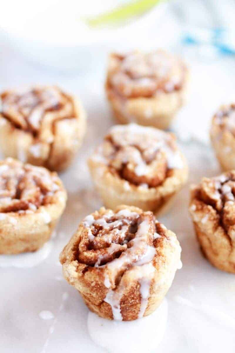 Mini Whole Wheat Cinnamon Buns-1
