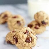 Super Healthy Breakfast (or anytime) Cookies-6
