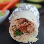 Chipotle Mexican Steak and Cilantro Lime Rice Burritos