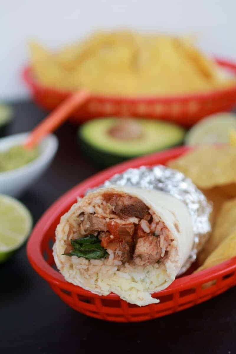 Chipotle Steak Burrito-6