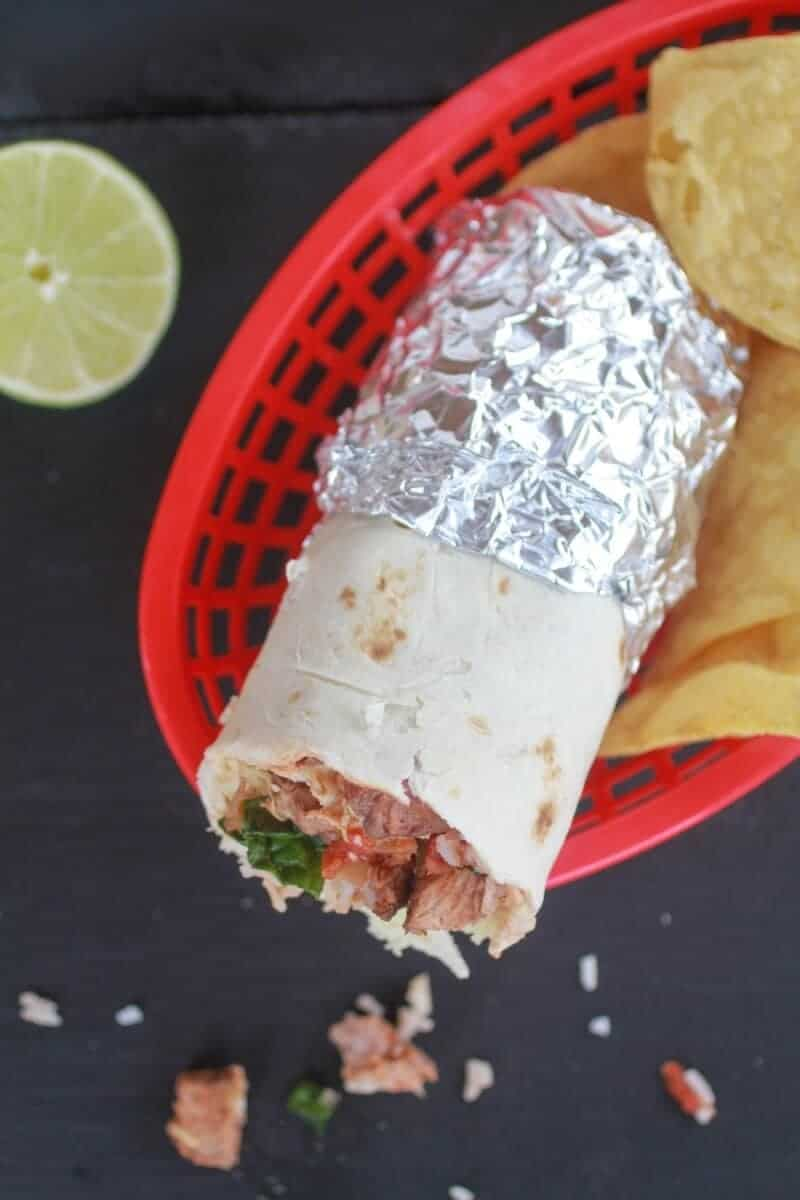 Chipotle Steak Burrito-9