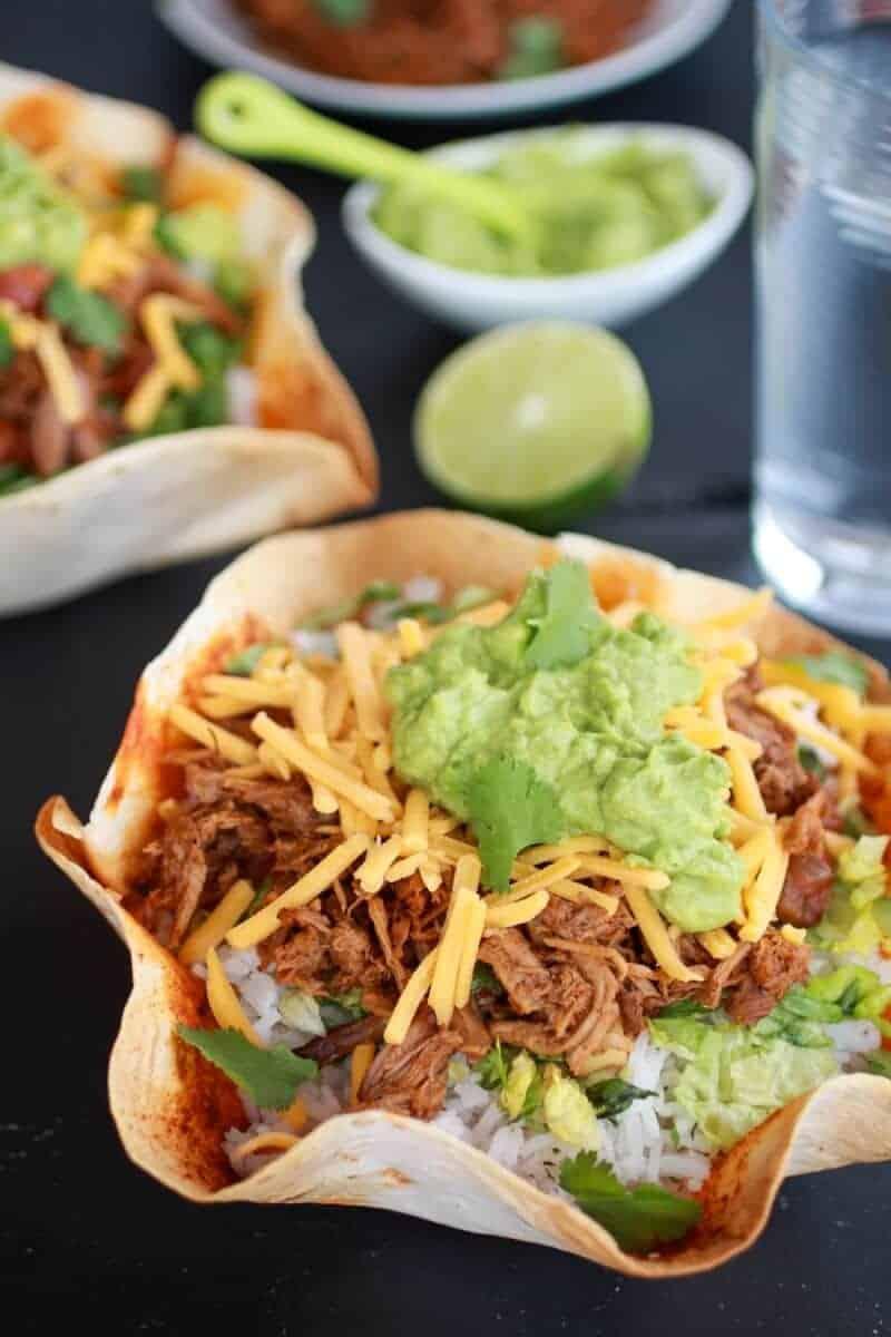 Slow-Cooked Pork Burrito Bowls Recipes — Dishmaps