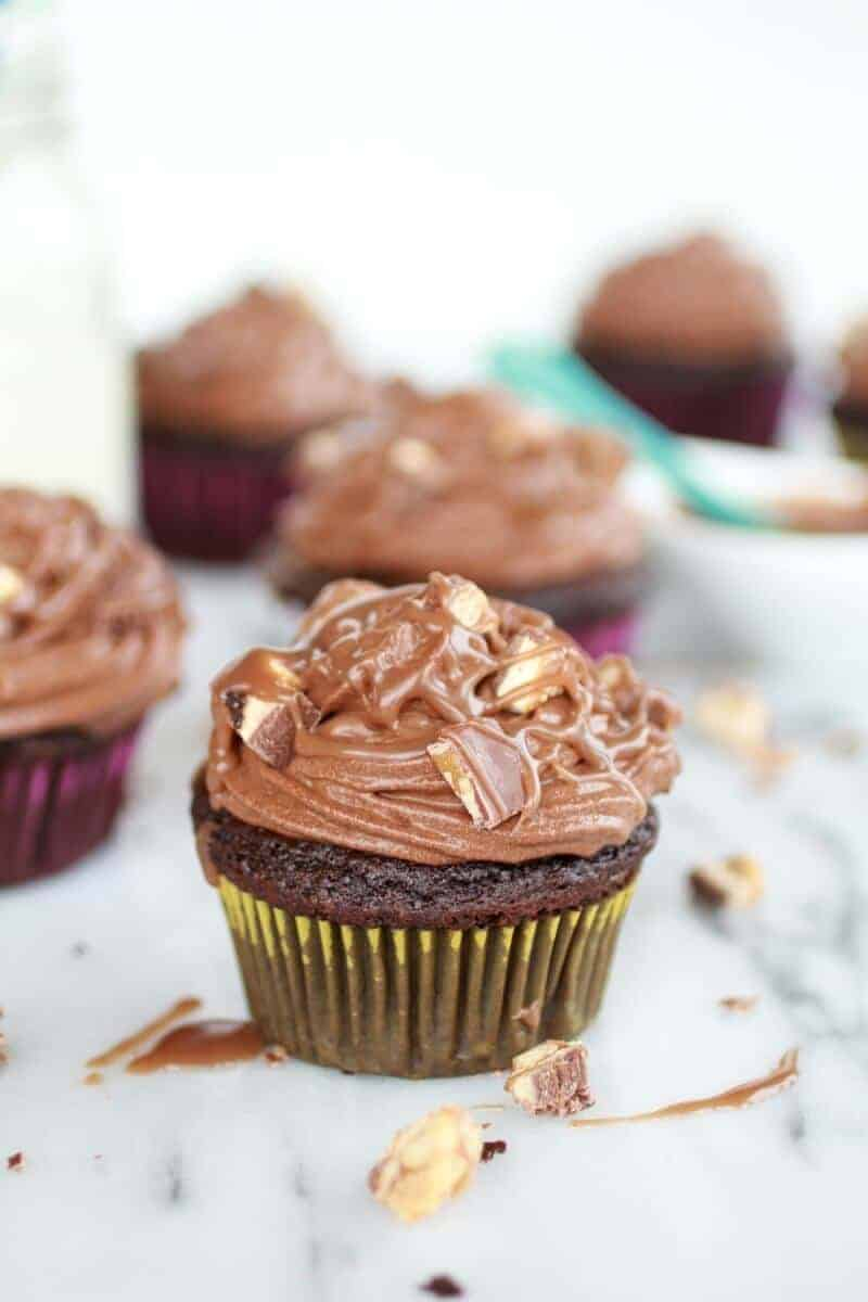 Death By Chocolate Cupcakes http://www.halfbakedharvest.com/