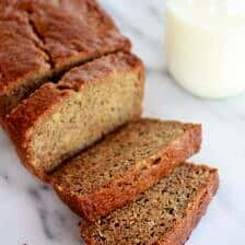 Whole Wheat Graham Cracker Banana Bread
