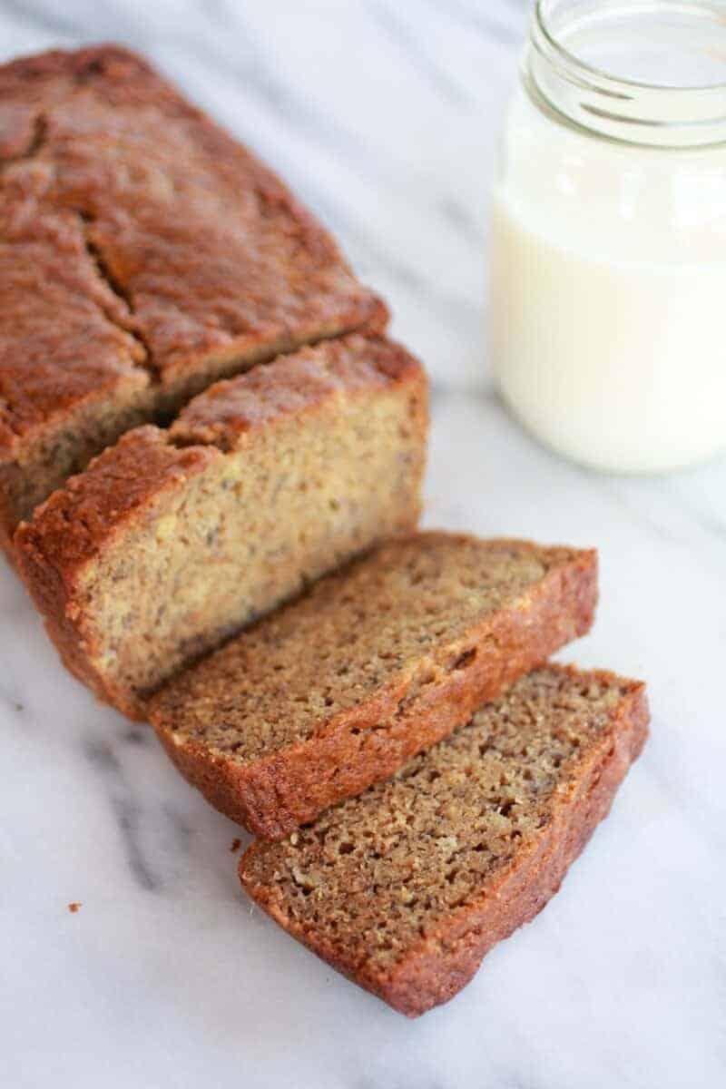 Whole Wheat Graham Cracker Banana Bread