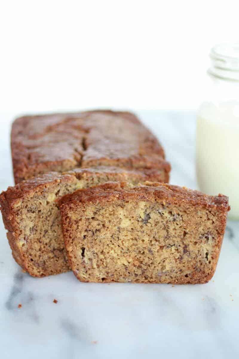 Graham Cracker Banana Bread-5