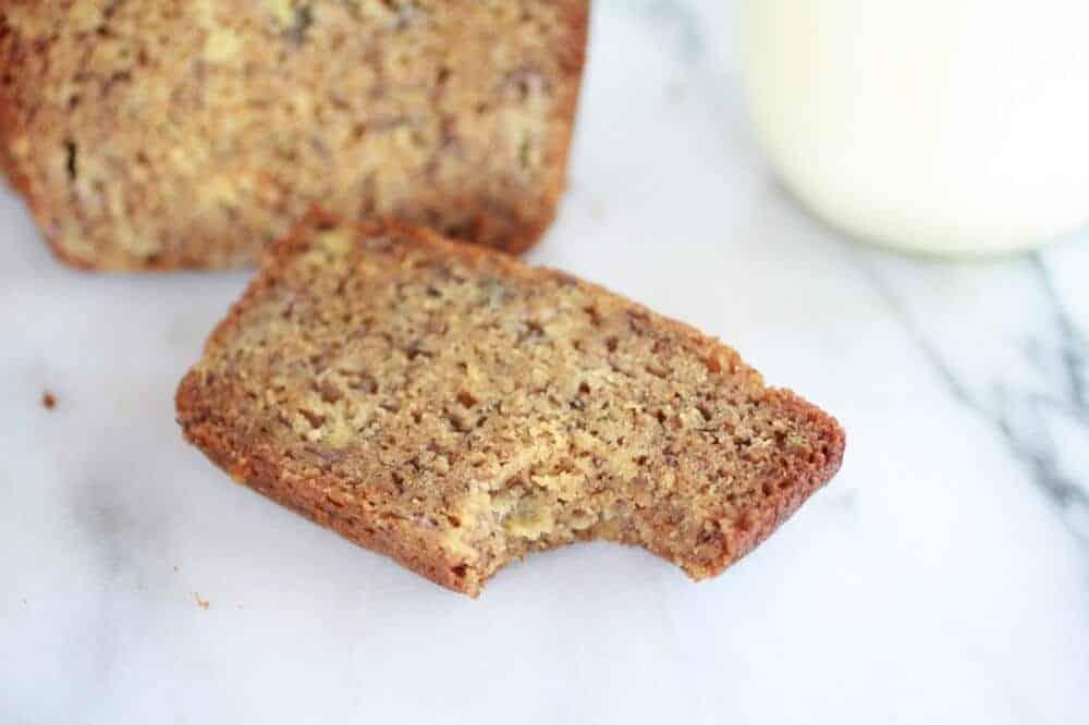 Graham Cracker Banana Bread-9