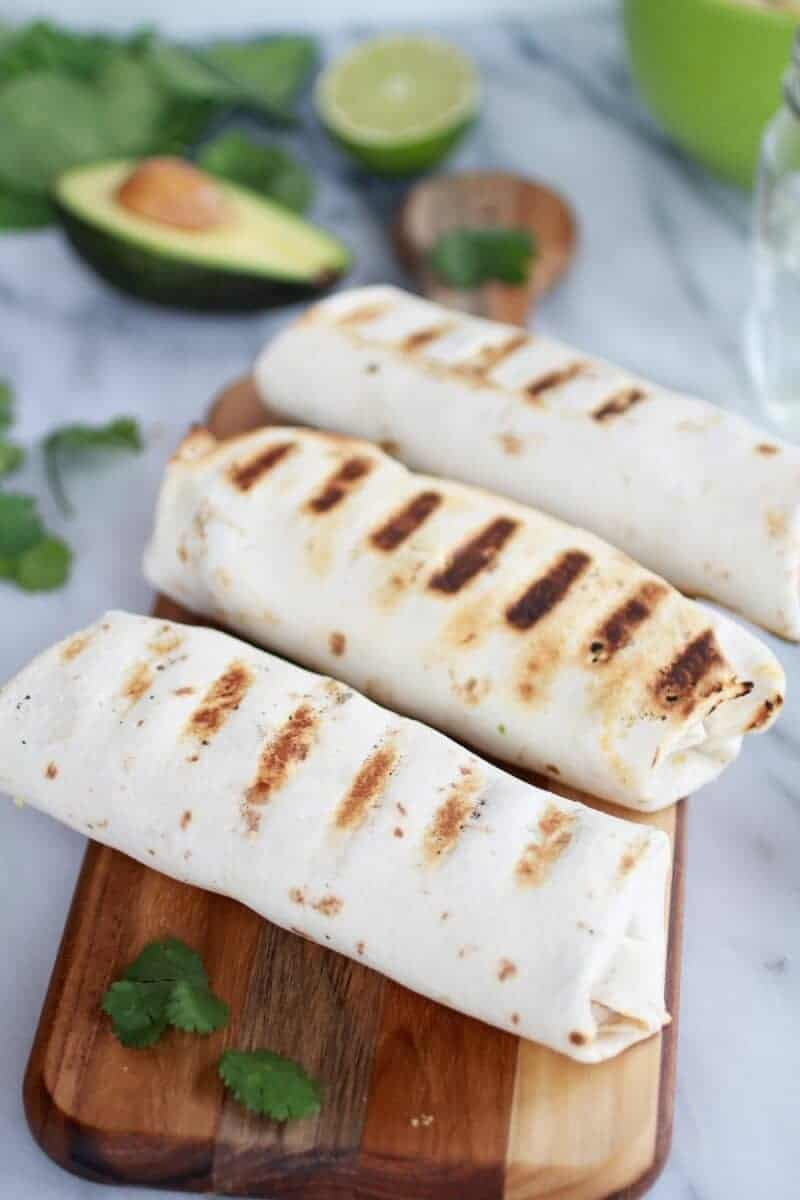 Grilled Tex-Mex Chicken and Qunioa Wraps-3