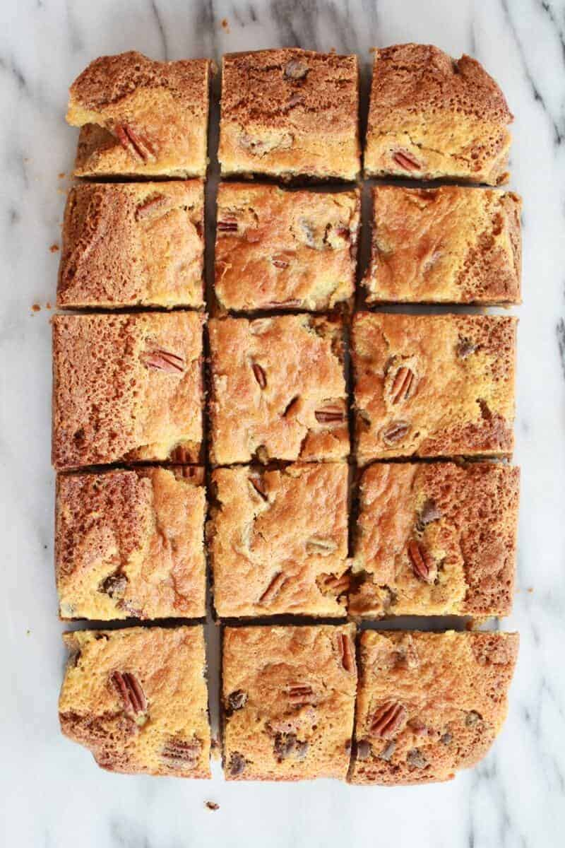 Kentucky Derby Pie Chocolate Chip Cookie Bars | http://www ...