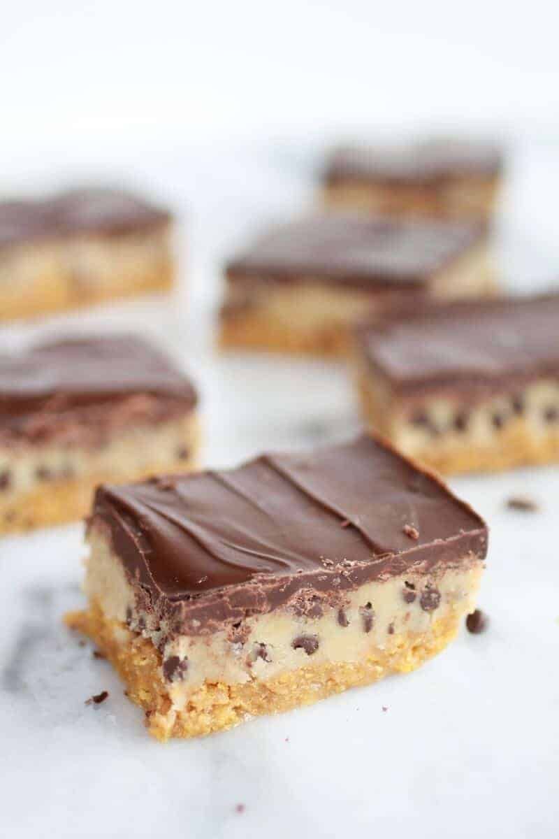 Skinny Chocolate Chip Cookie Dough Special K-Bars-2