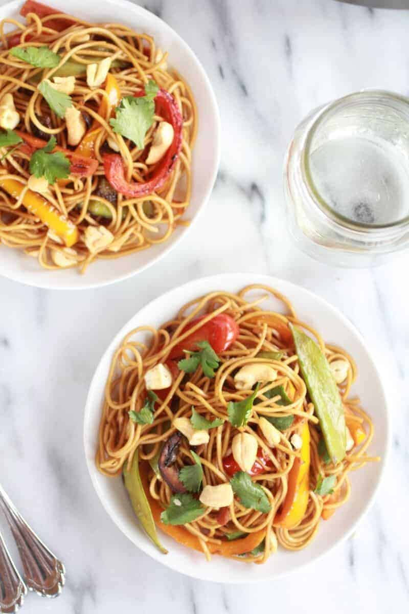 Spring Vegetable Lo Mein-10