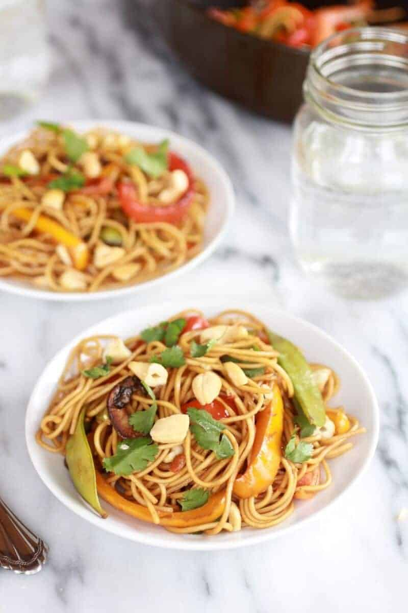 Spring Vegetable Lo Mein-1