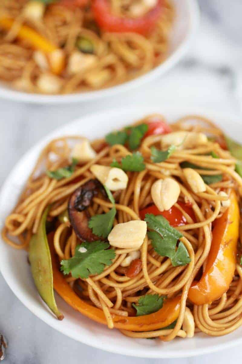 Spring Vegetable Lo Mein-5