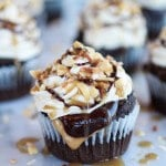 Snickers Coconut Caramel Cupcakes-8