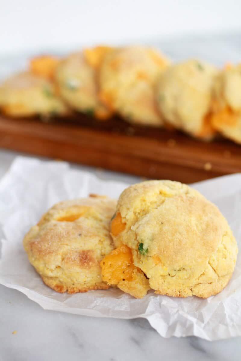 Sweet Corn Biscuits Recipe — Dishmaps