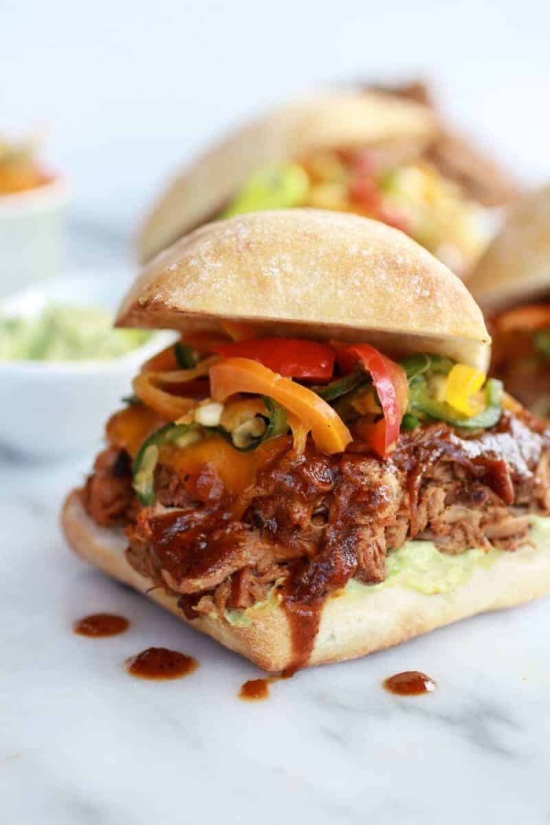 slow cooker cajun slow cooker pulled pork cheesy crockpot cajun pulled ...