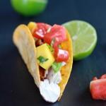 Coconut Lime Mahi Mahi Tacos with Tequila Soaked Watermelon Salsa-9
