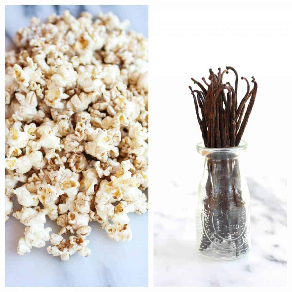 Sugared Brown Butter Vanilla Bean Popcorn Chocolate Cupcakes | halfbakedharvest.com