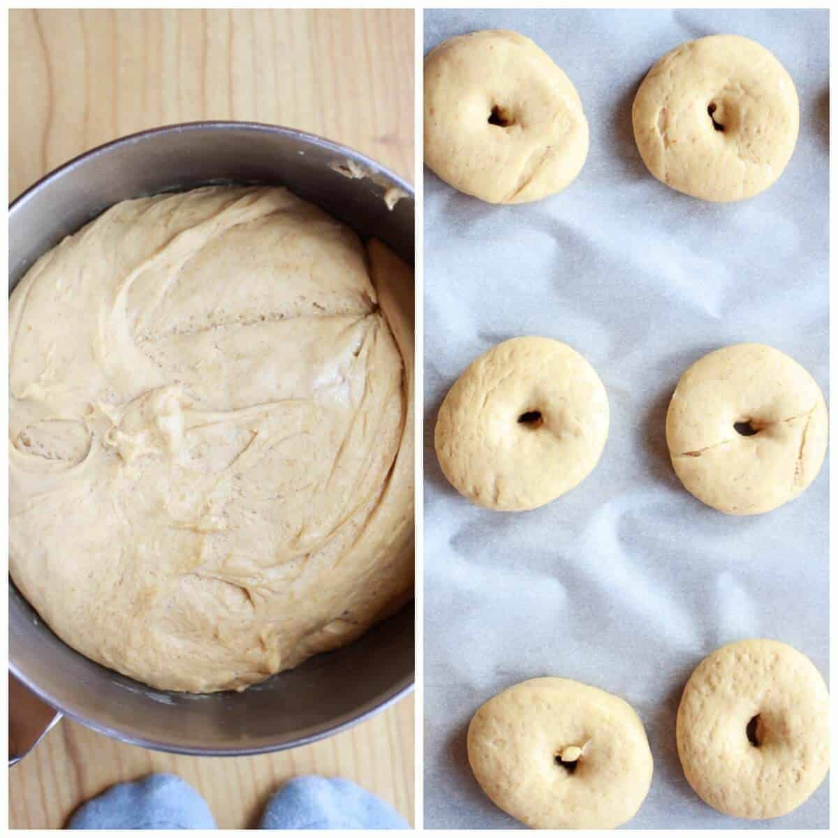 MIni Brown Sugar Glazed Graham Cracker Doughnuts | halfbakedharvest.com