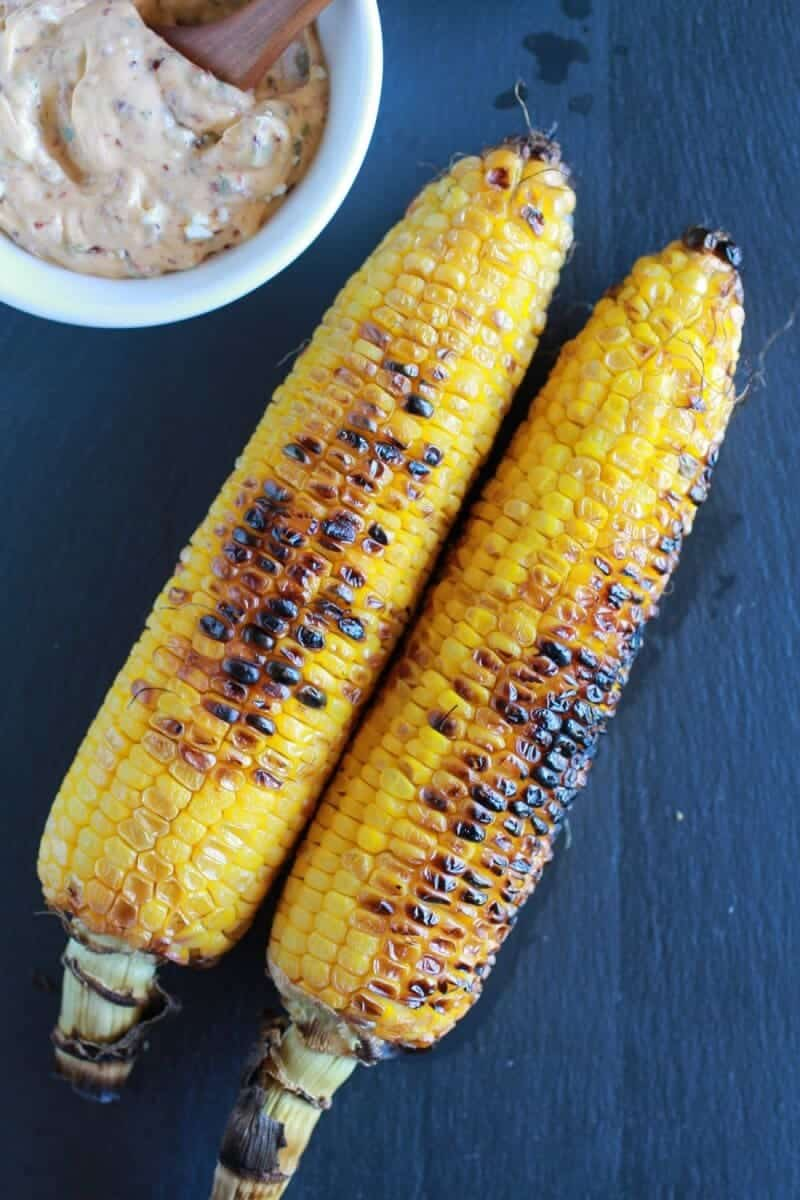 Exactly How I Grill My Corn + Chipotle Lime and Cotija Cheese Butter | halfbakedharvest.com