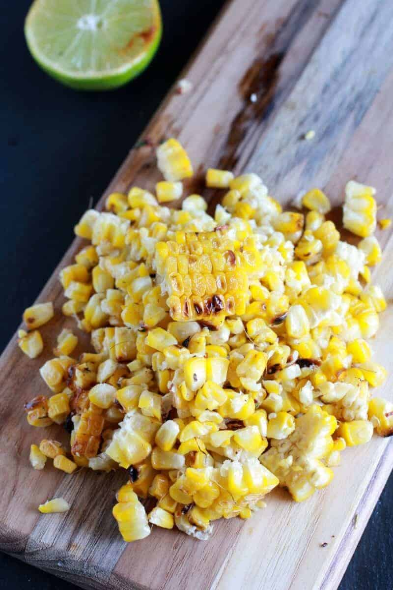 ... How I Grill My Corn + Chipotle Lime and Cotija Cheese Butter