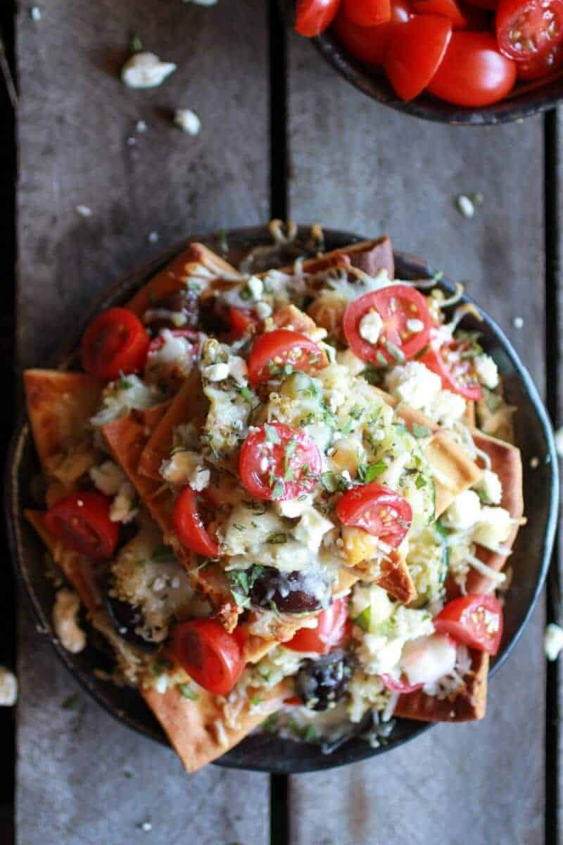 the fixings nachos with all the fixings recipe dishmaps sweet potato ...