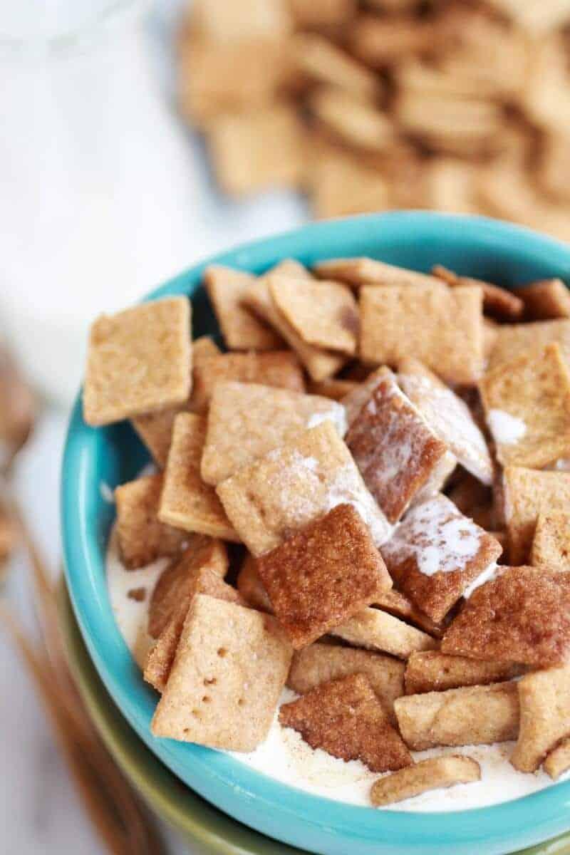 Homemade Cinnamon Toast Crunch | halfbakedharvest.com