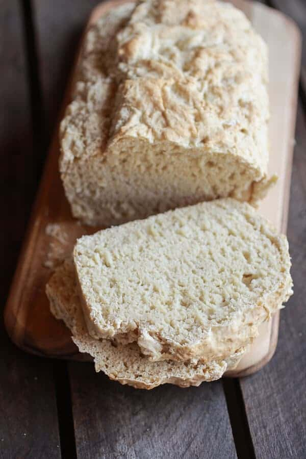 5 Ingredient Beer Bread | halfbakedharvest.com