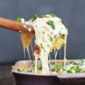 Easy Creamy Buffalo Chicken Quinoa Bake-6