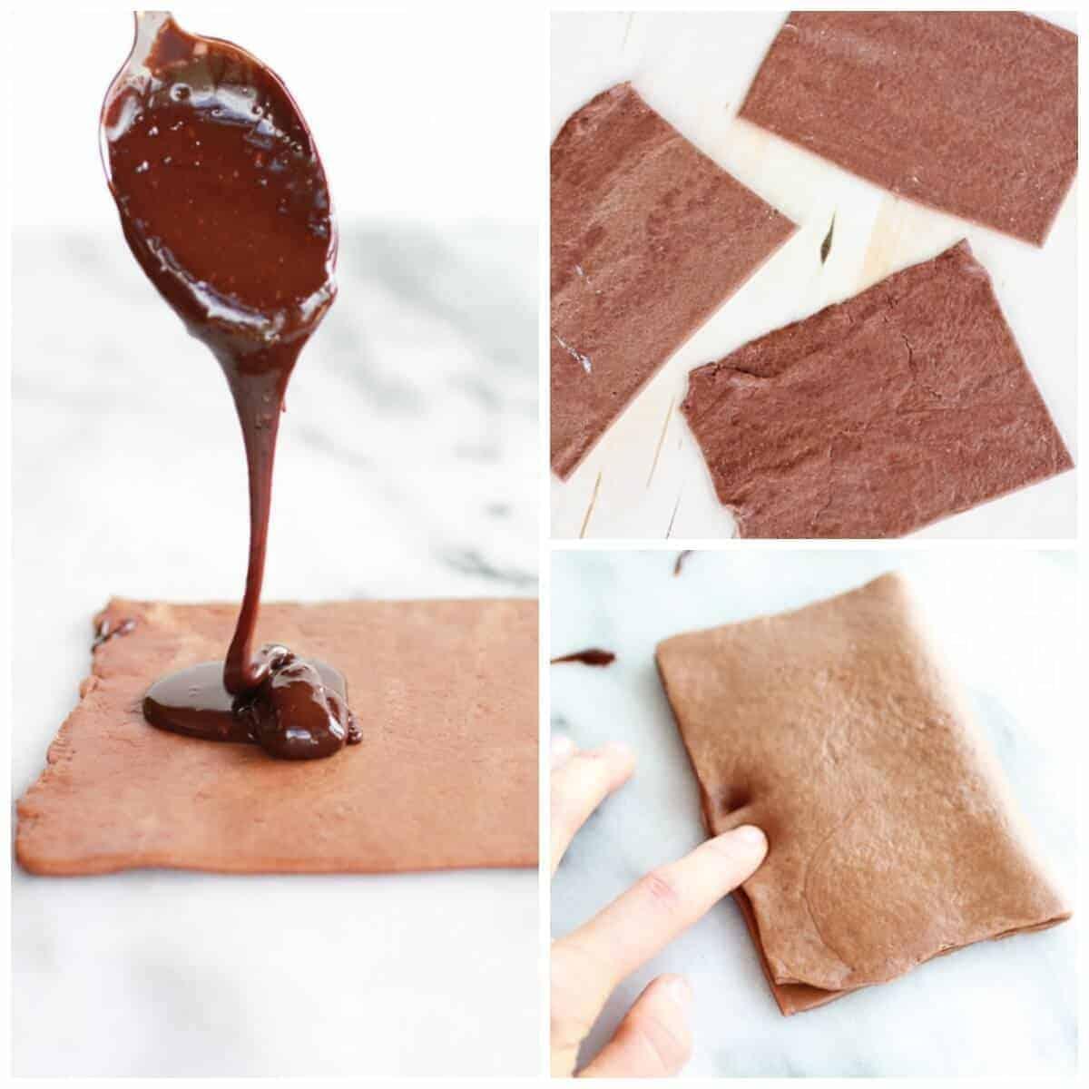 Homemade Chocolate Fudge Poptarts | halfbakedharvest.com
