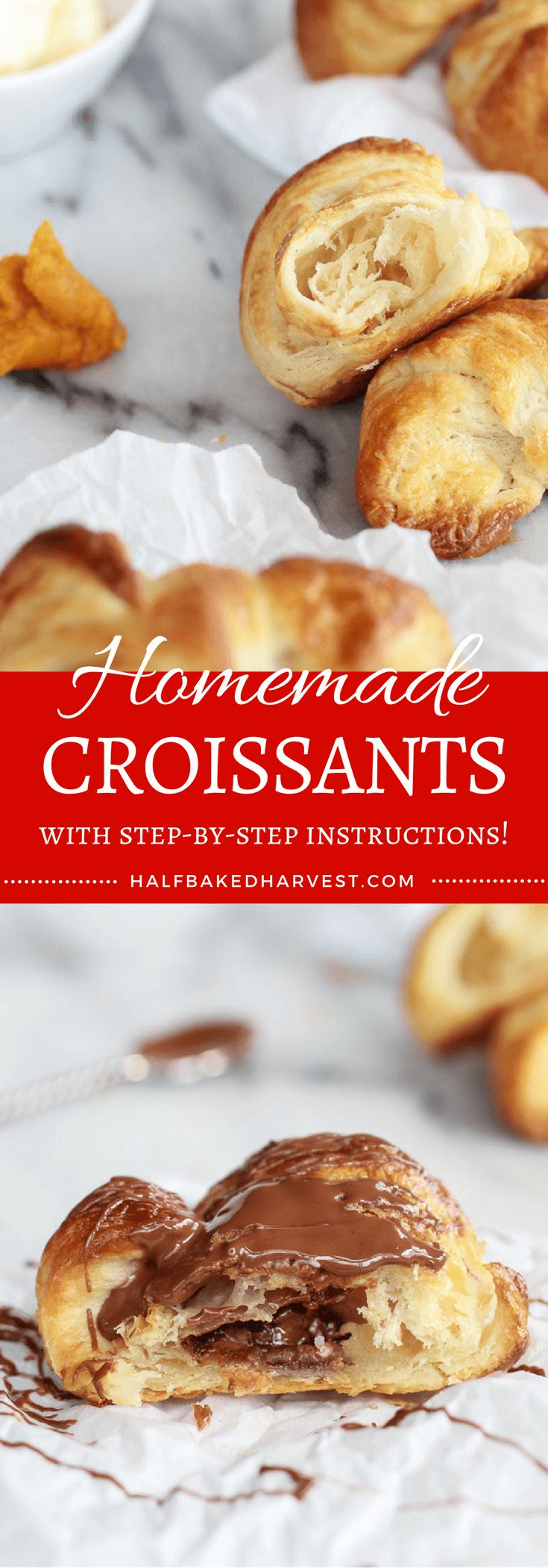 Homemade Croissants   halfbakedharvest.com @hbharvest