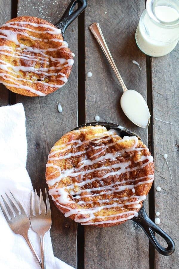 Chocolate Chip Pumpkin Cinnamon Roll Dutch Baby | halfbakedharvest.com